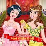 Princesses at Met Gala Ball