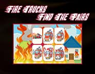 Fire Trucks: Find the Pairs